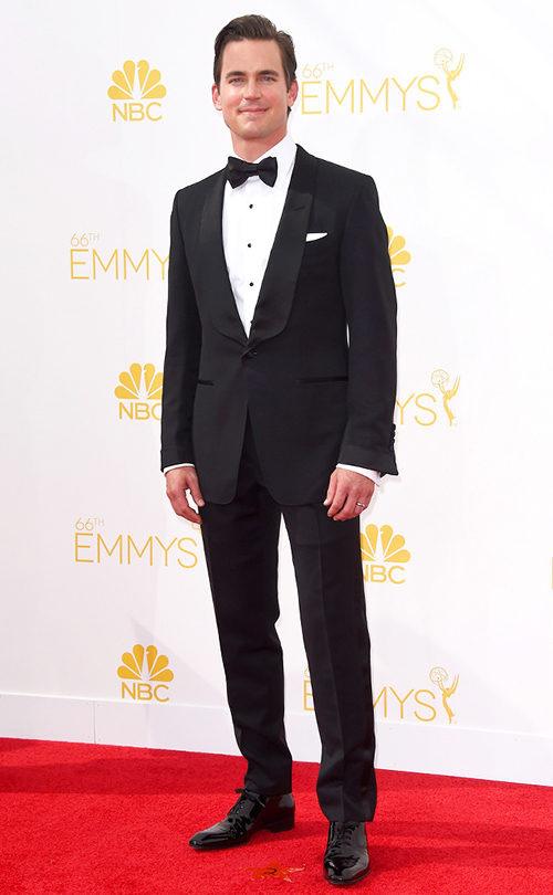 Our pick for best dressed of the evening was an easy choice. Much like his character of 'White Collar' Matt Bomer always keeps it classy and classic on the red carpet. His 1 button shawl collar tuxedo by Tom Ford was absolutely flawless. It hit his frame well. The style, accessories, fit, everything, would impress even the strictest of black tie purists. Well done, Bomer. Well done.