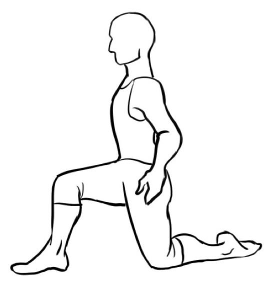 Hip Flexor Exercise