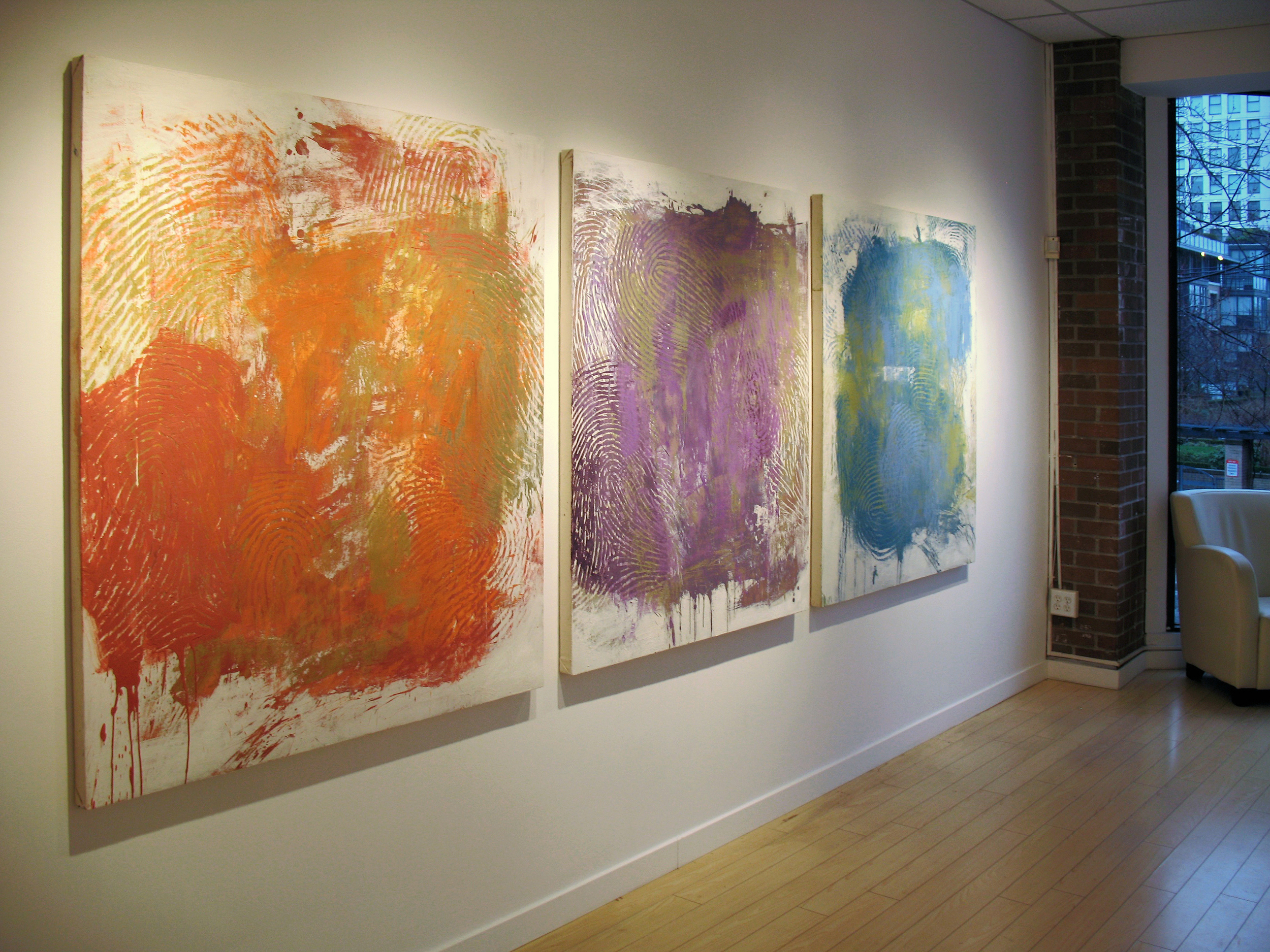 Matter and Energy  exhibition, Elissa Cristall Gallery