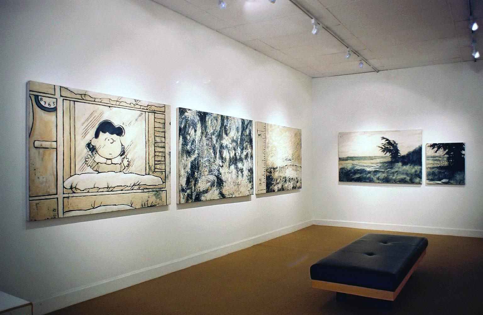 The Medium of Proof  exhibition, Elissa Cristall Gallery