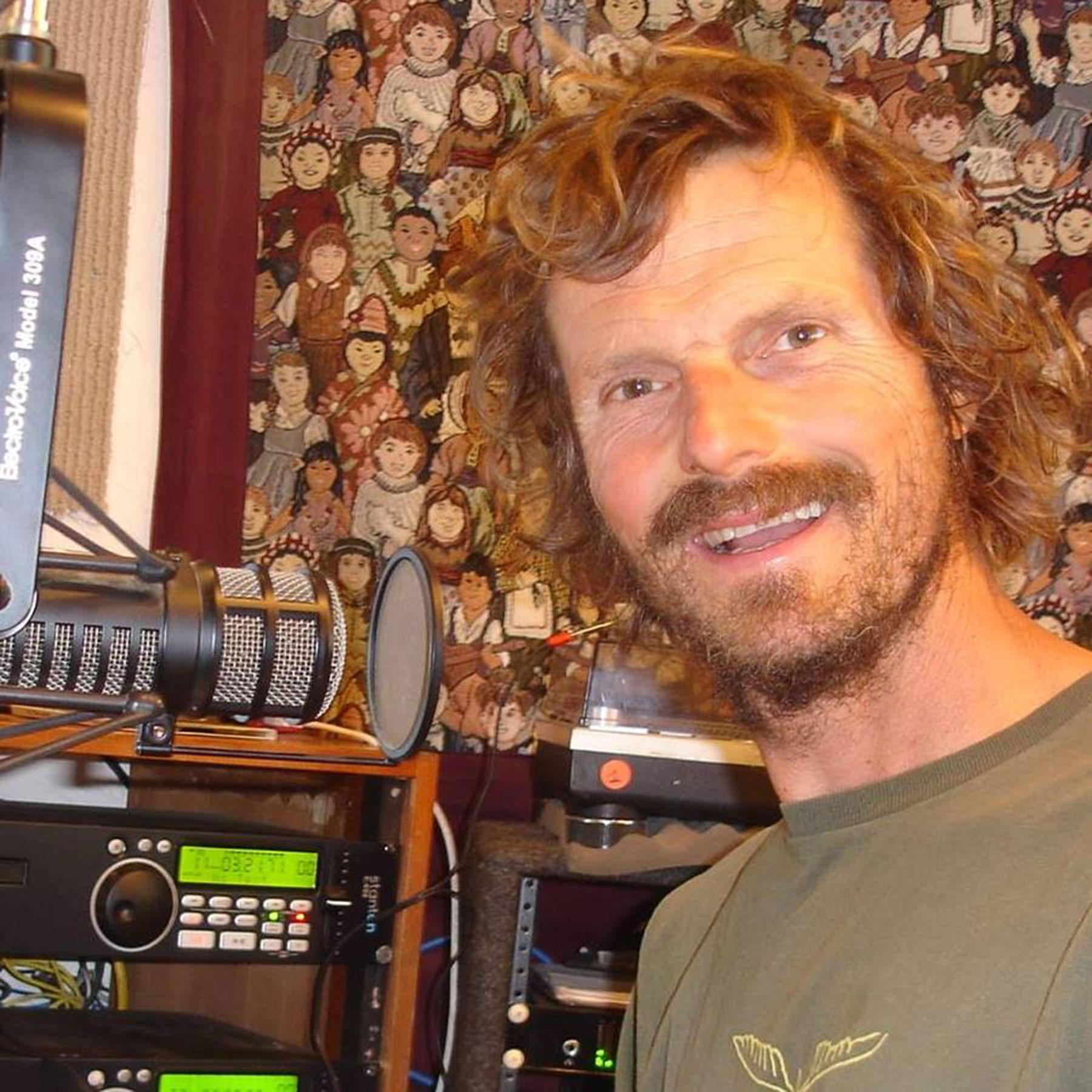 Bill Taylor in the KZYX Philo studio