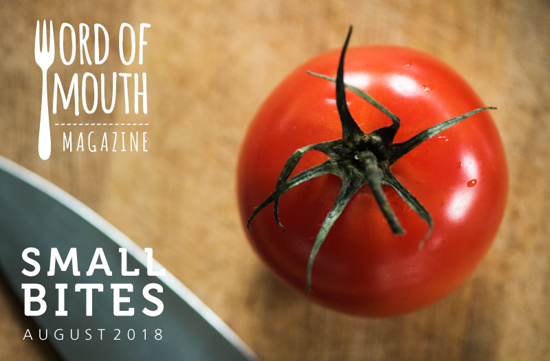 August 2019 Small Bites for Word of Mouth magazine