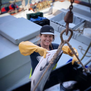Heather Sears of Princess Seafood Market & Deli
