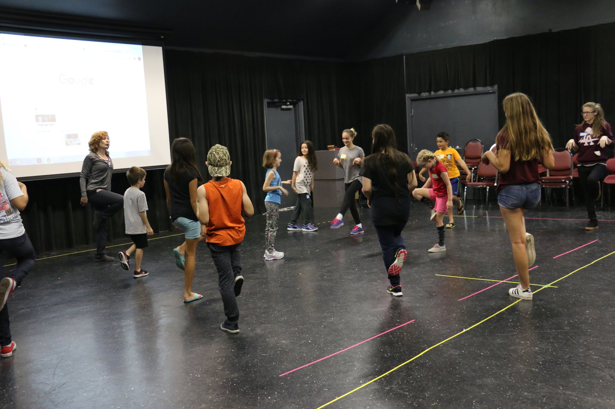 Agnes Wahlstrom Youth Playhouse / Theatre Education Building - The Richardson Room of the Agnes Wahlstrom Youth Playhouse is a multi-functional space. It can be configured as a black box performance space or can be used for receptions, special events, and a rehearsal hall or class room.