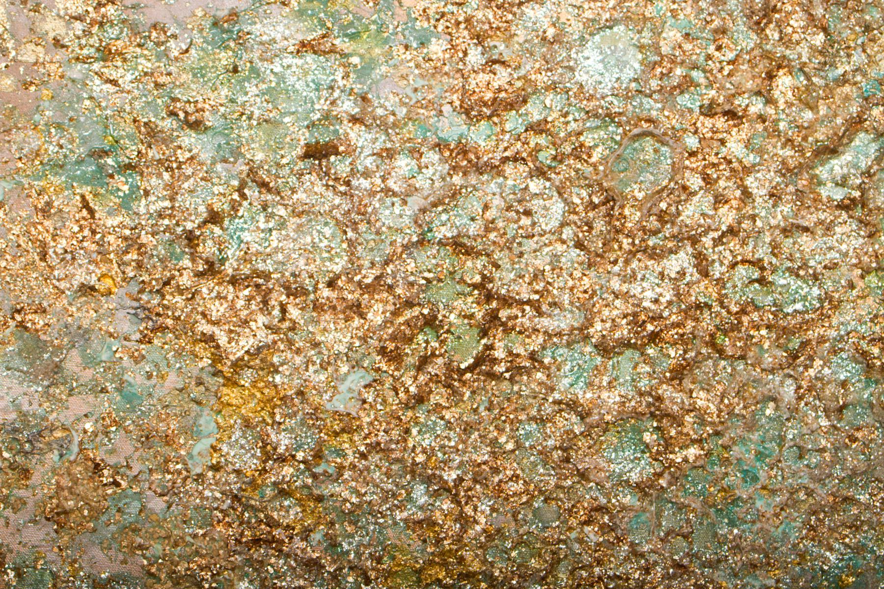 Detail of Seafoam Gold