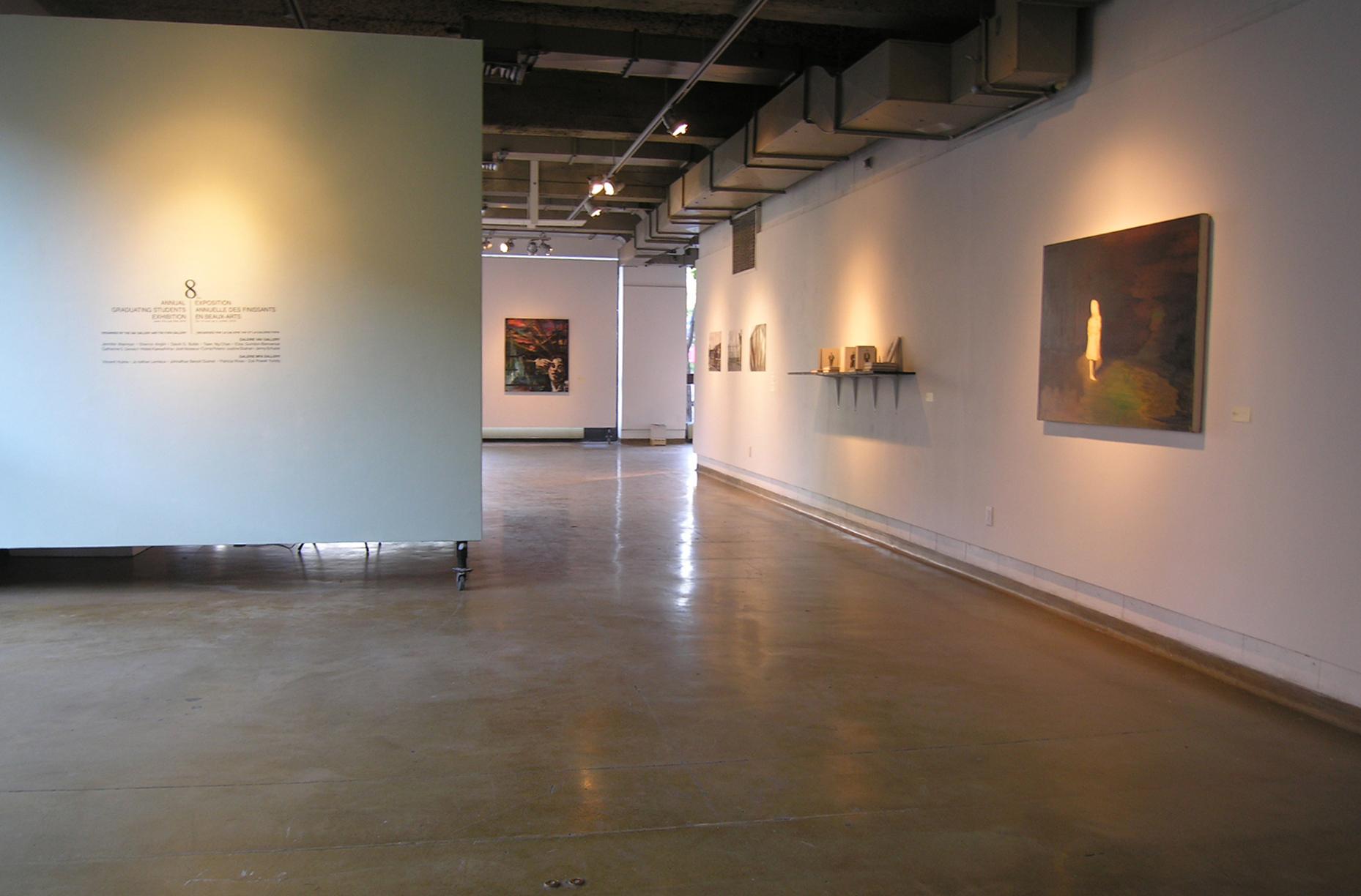 """Untitled"" (exhibition view) - C. S. Genest"