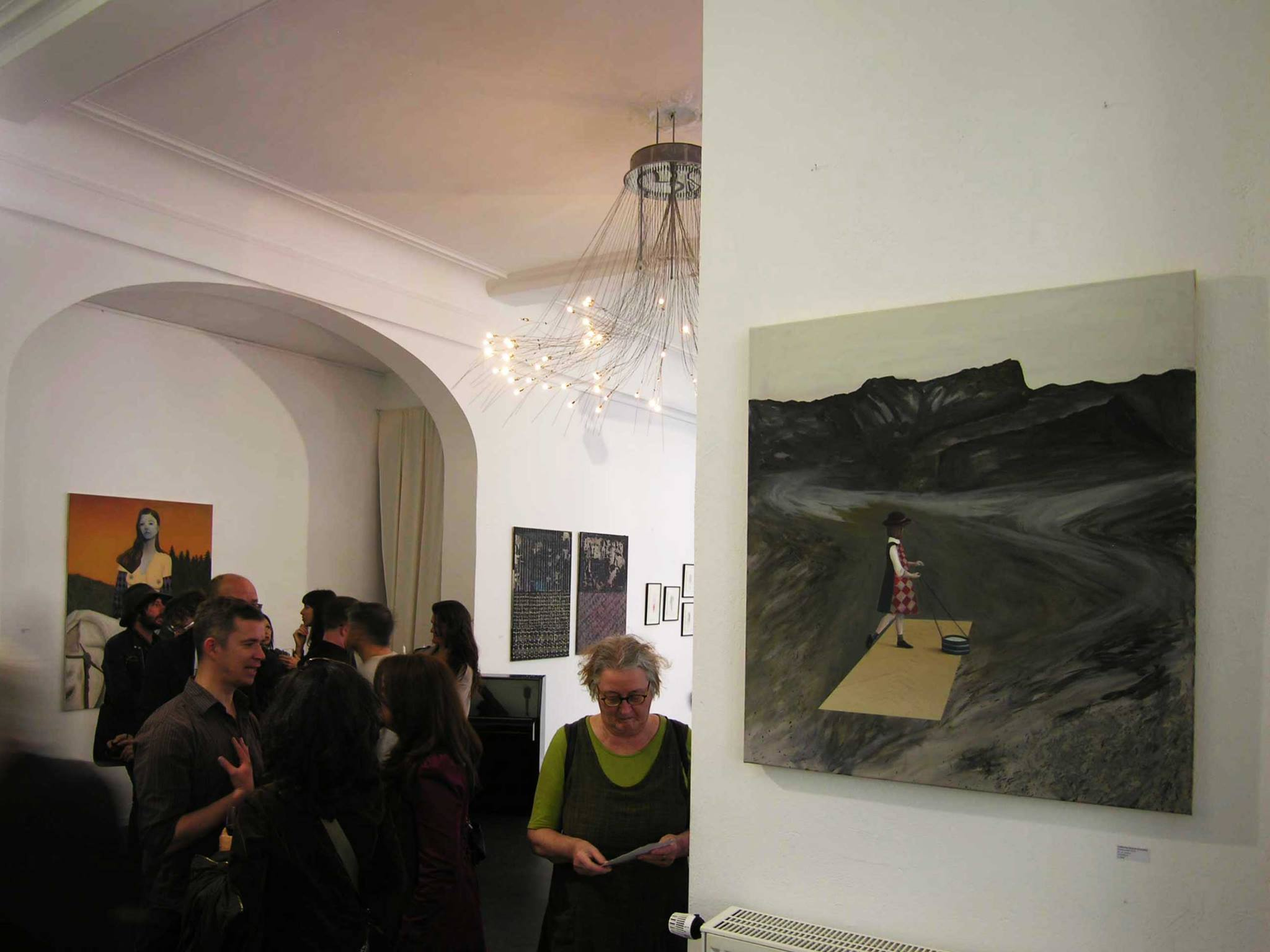 """""""Face à face"""" (exhibition view) - C. S. Genest"""