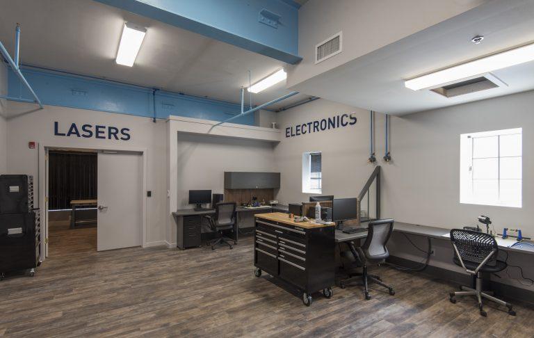 Electronics and Laser Studios. Photo credit: NextFab