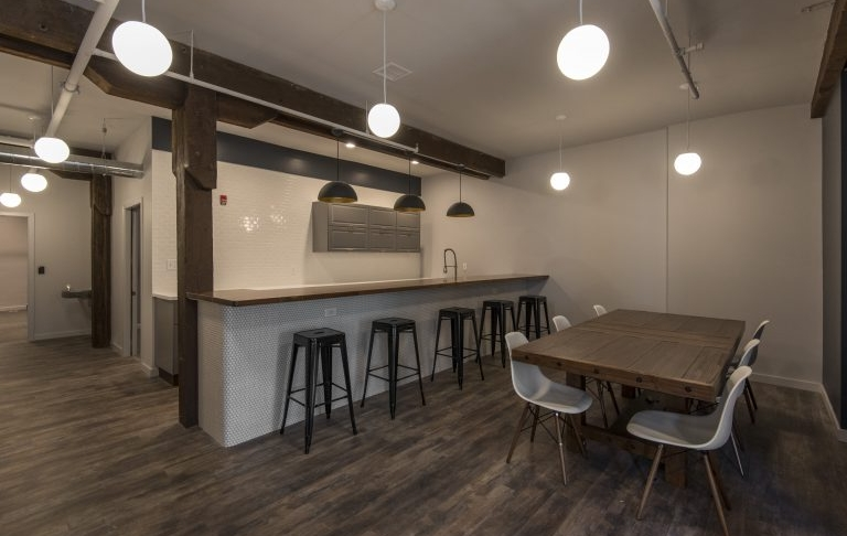 Bar area. Photo credit: NextFab