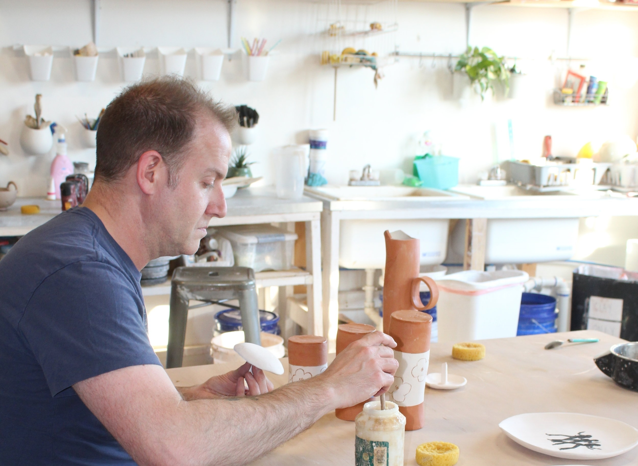 Classes - Classes run once a week for four weeks, giving students time to learn the entire process of creating a ceramic piece. Class sizes are small to allow for plenty of individual attention. Class fees include glazing, firing and use of all the tools and facilities.