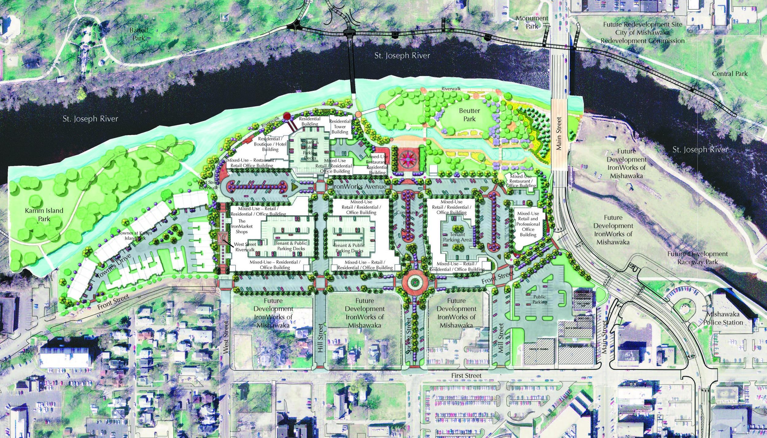 Ironworks of Mishawaka Development Plan