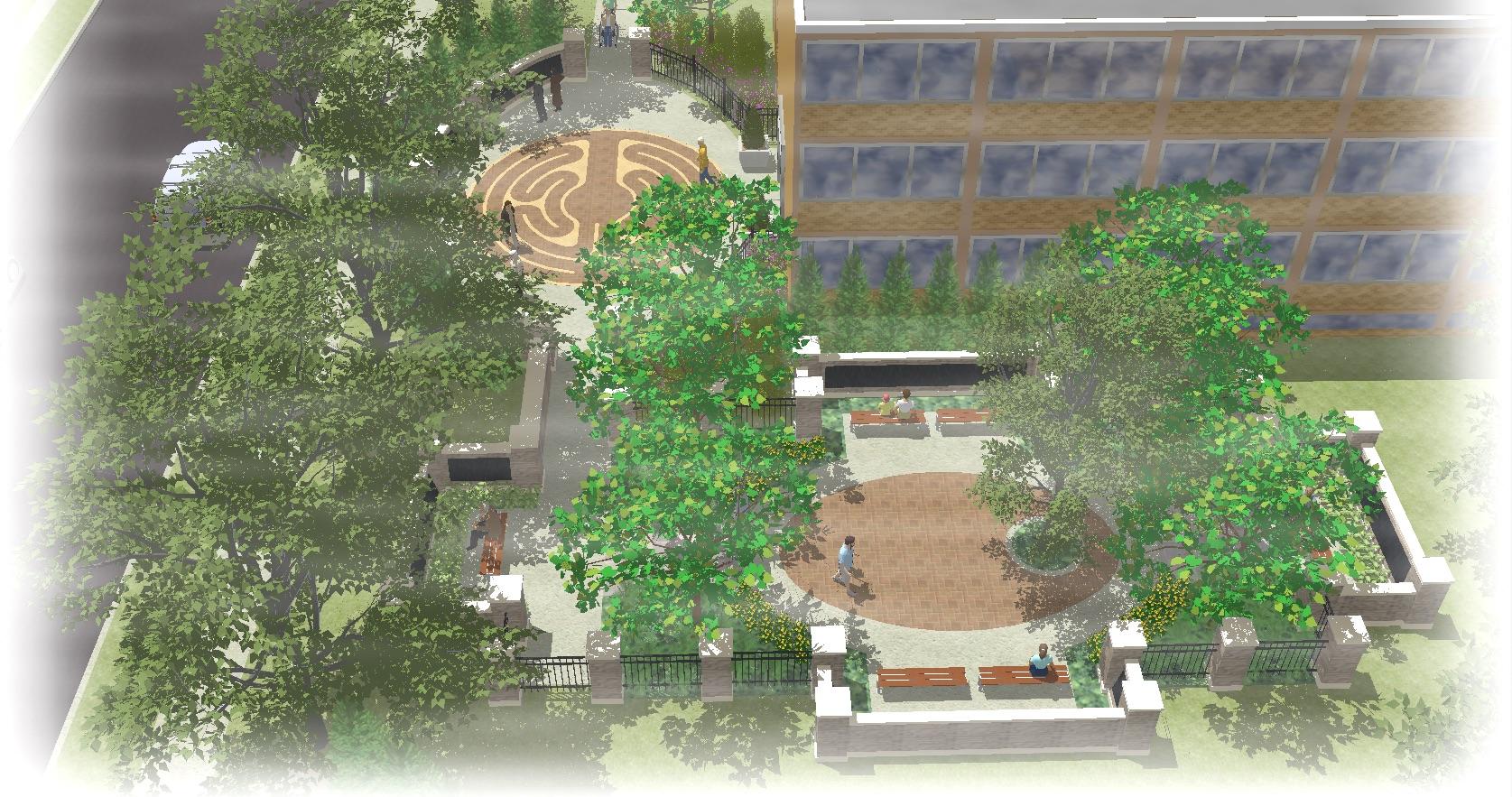 Hospice Memorial Garden
