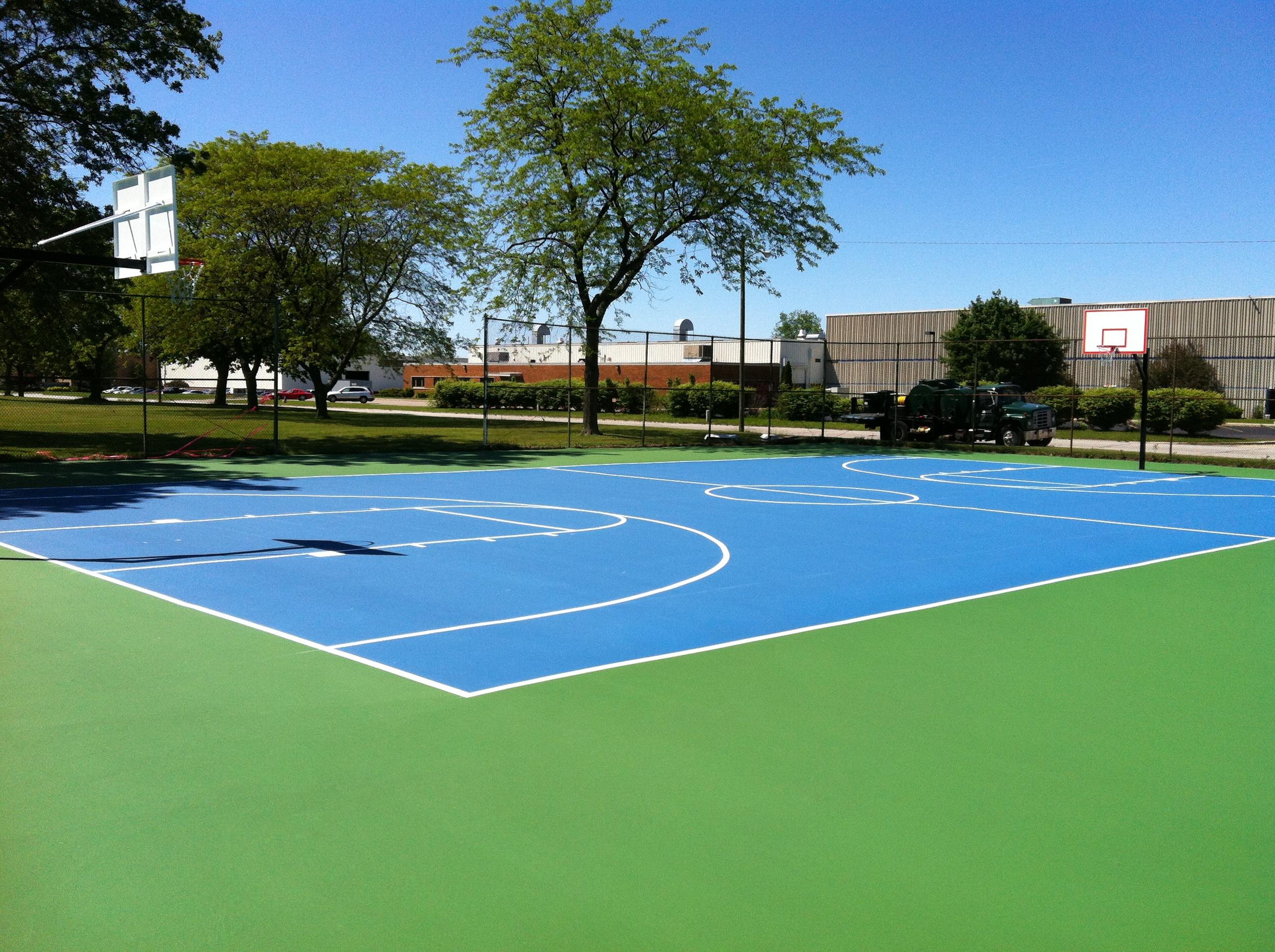 Voorde Park Basketball Court