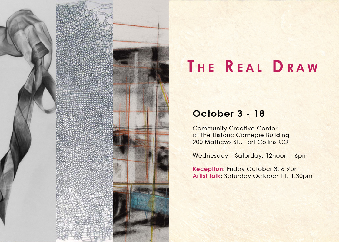 OPENING RECEPTION FRIDAY OCTOBER 3rd 6-9pm