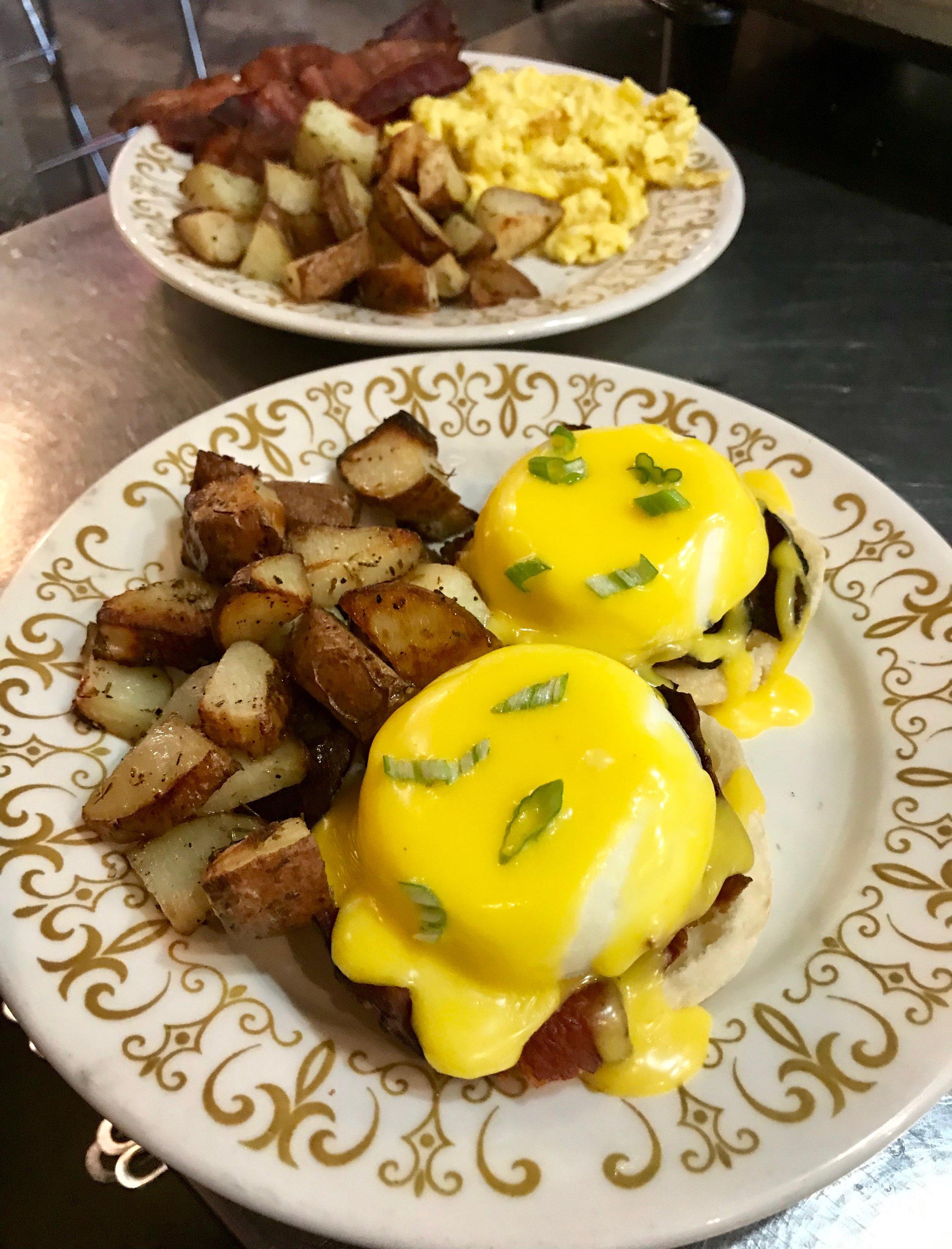 sb eggs Bennie and egg plate.JPG