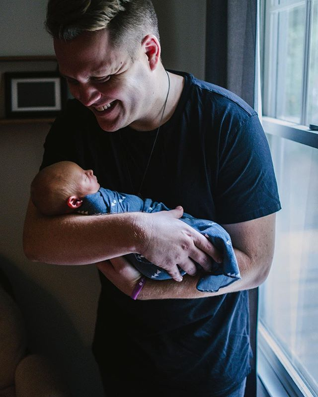 Dax came 3 weeks early, but the timing is not lost on us. Our little dude has been the best medicine and we are grateful. · 📸: @colinmukri