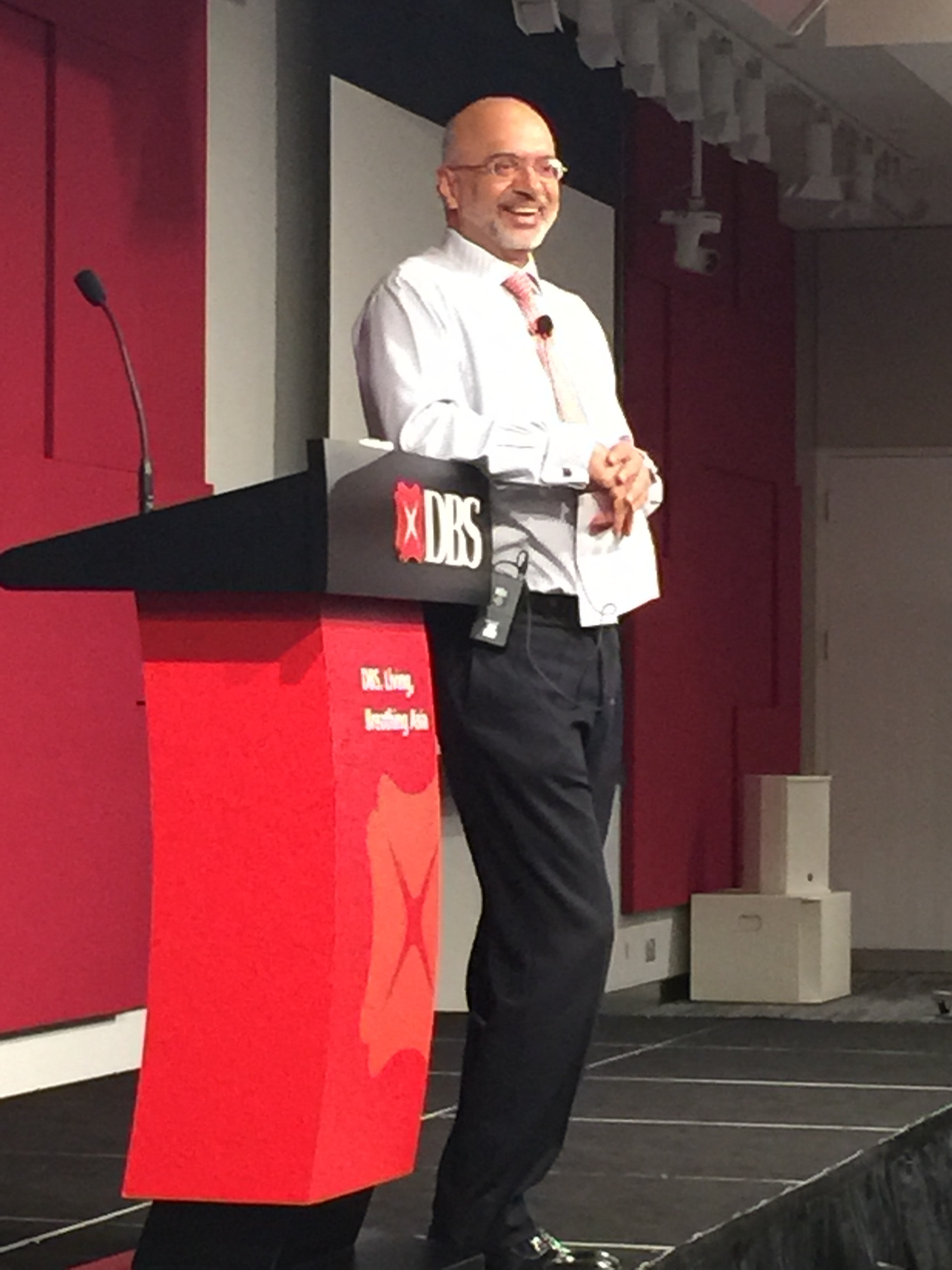 DBS Bank CEO Piyush Gupta