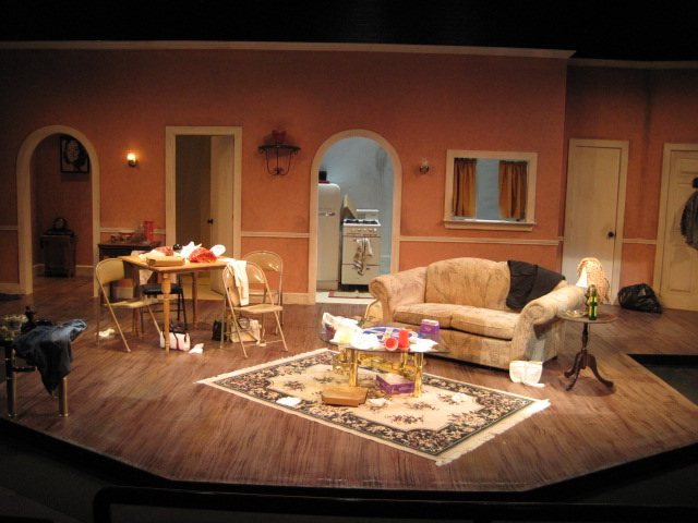 The Female Odd Couple  Scenic Design Gallery
