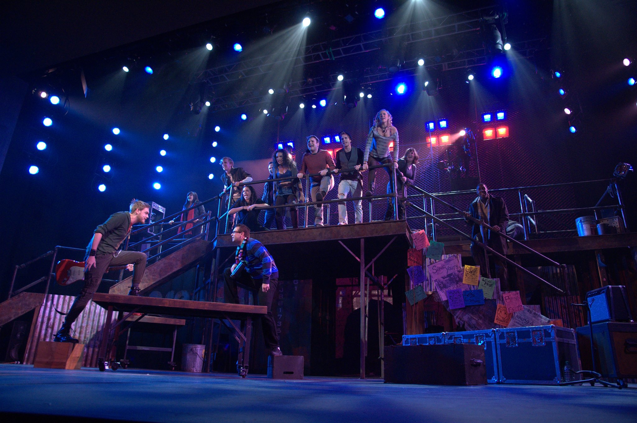 """Rent"" — Mark, Roger, Benny, Collins, Joanne and Company"