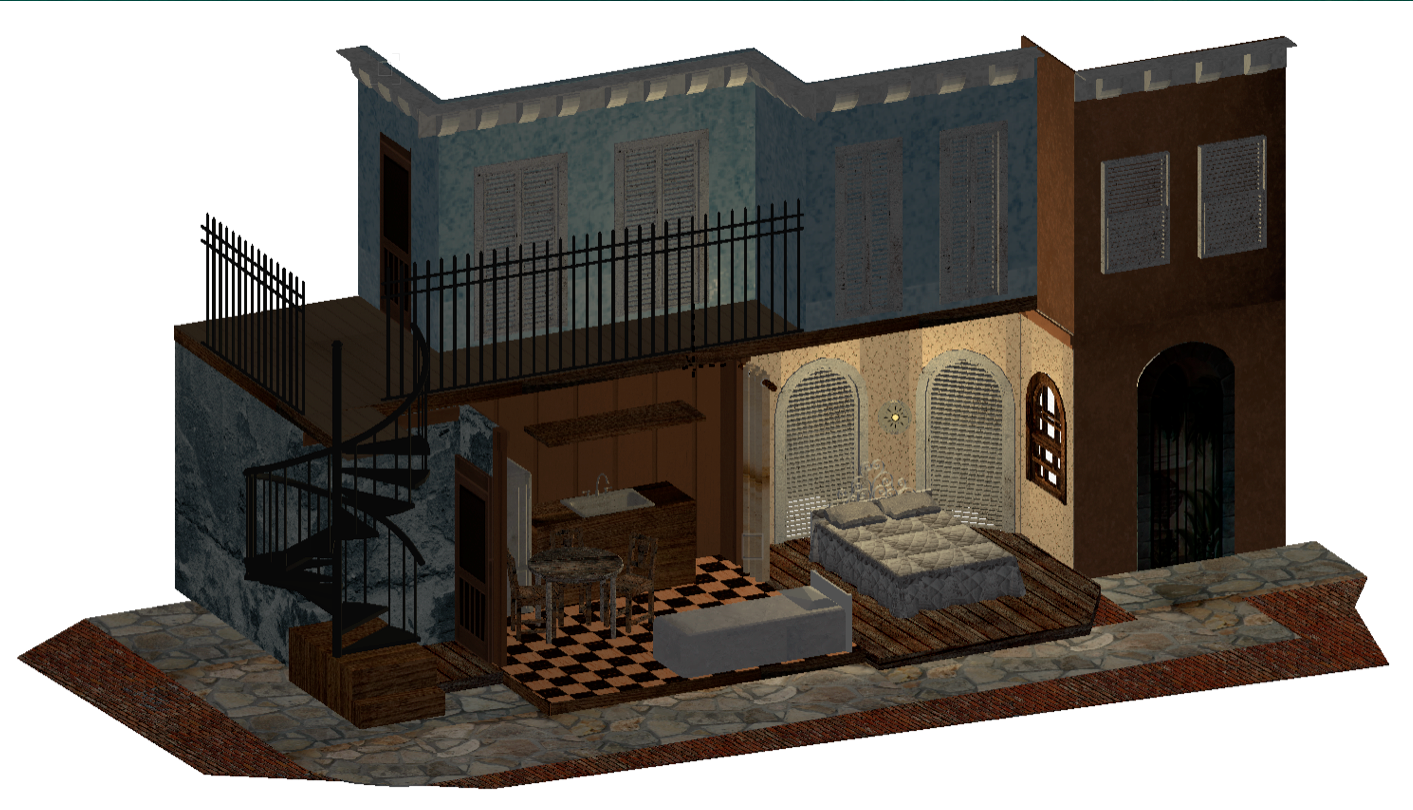 Streetcar Named Desire  Rendering Project