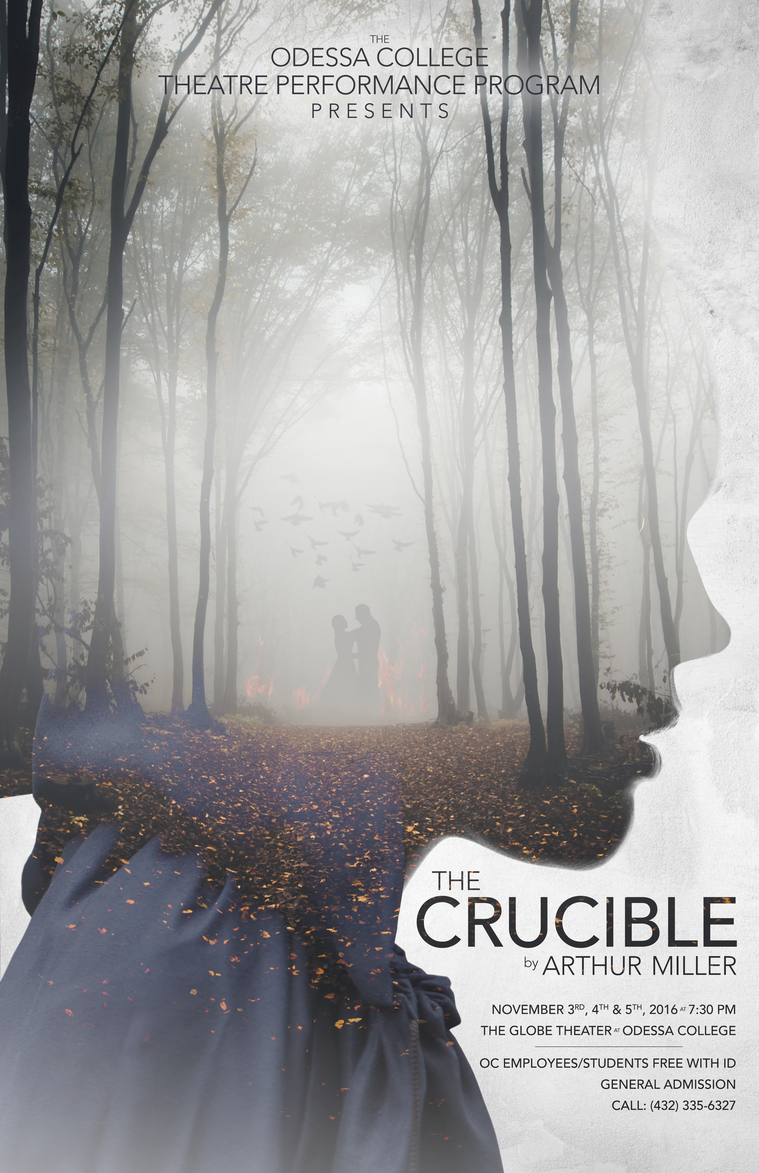 The Crucible  - Production Poster