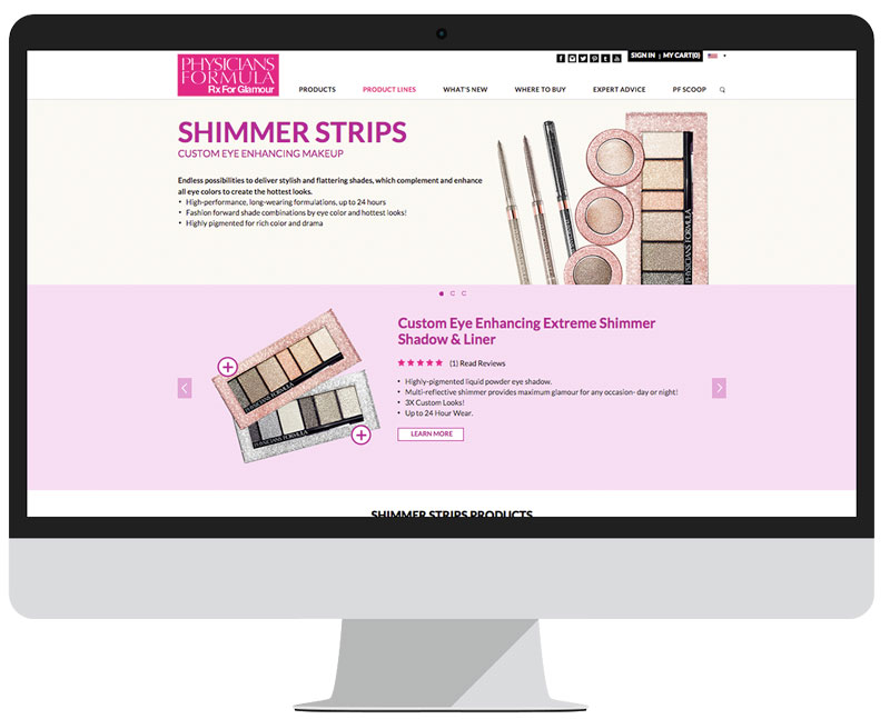Product Line Page