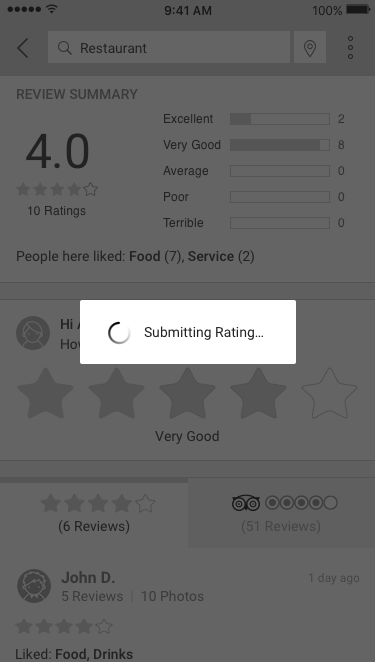 2. Submitting Review
