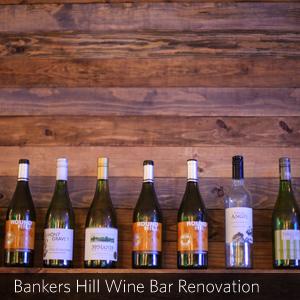 Bankers Hill Wine Bar Renovation