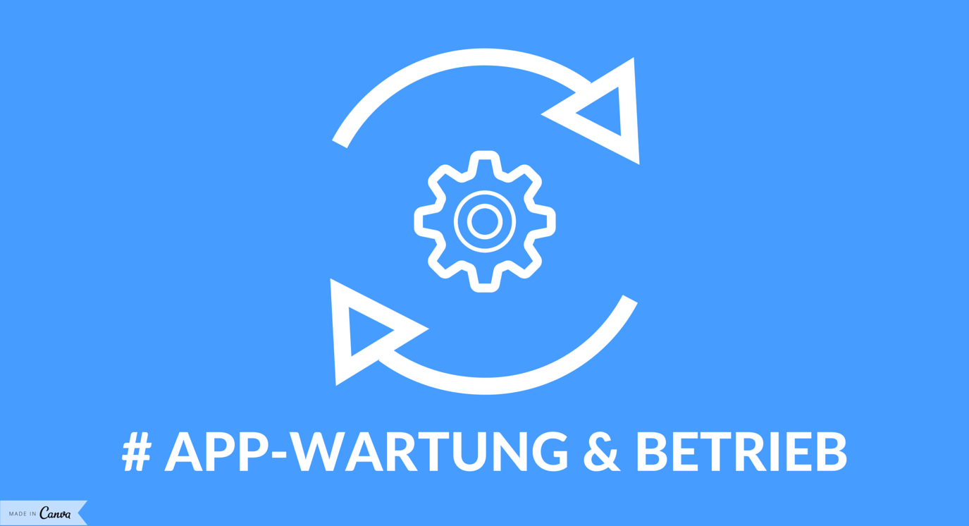 App-Wartung - Nach dem Upload