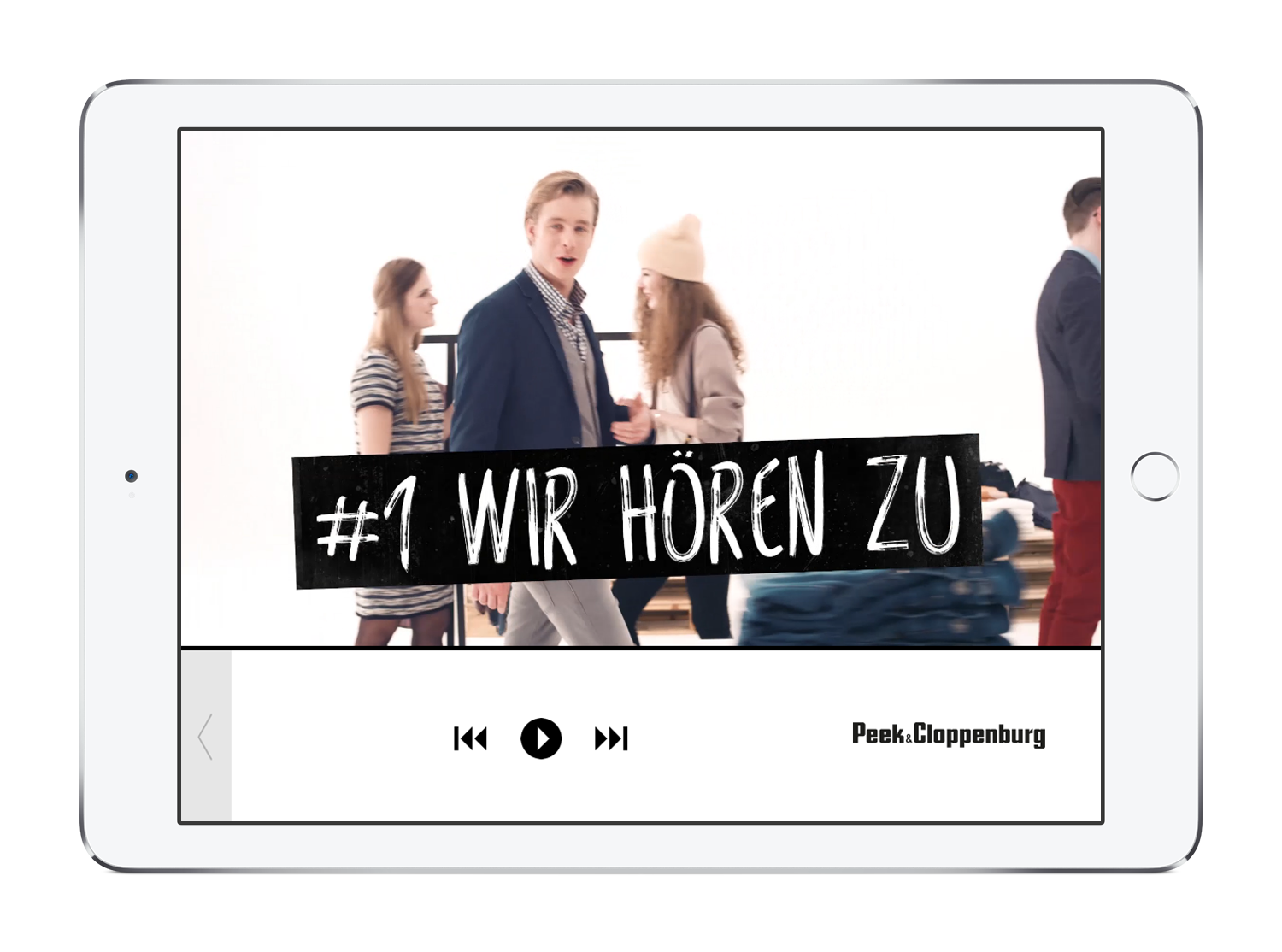 Messe-App: Video-Player