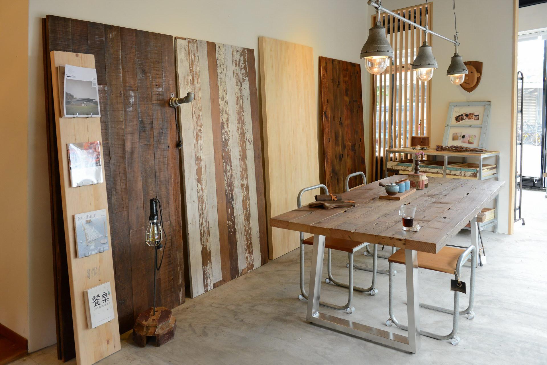Lille dining table 栂木 (鐵腳已停產)