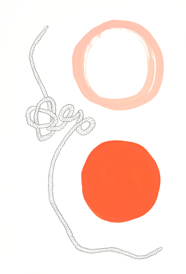 SOLD - Flipside, 2014, 21x14.5