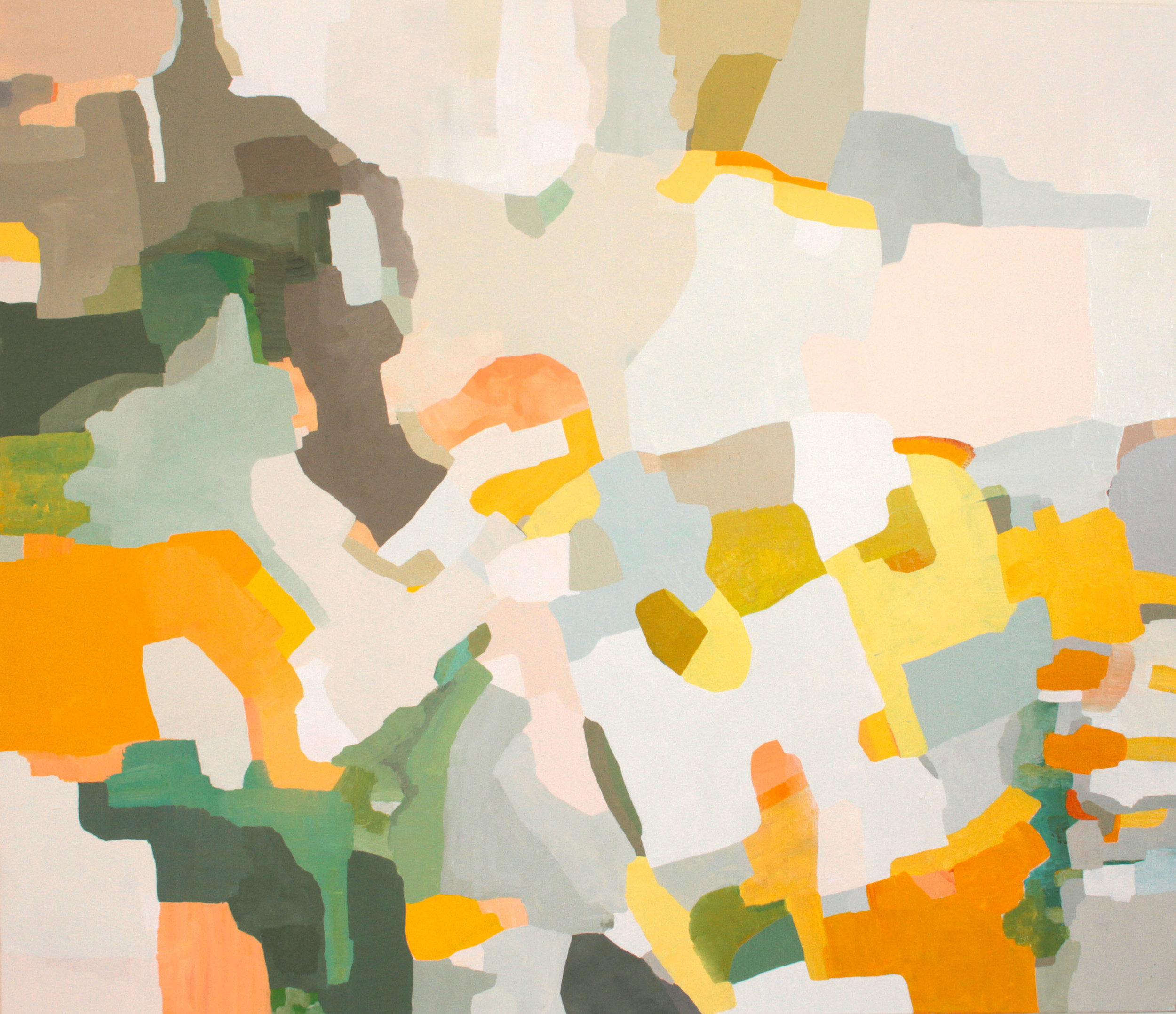 """Chickadee"" 2016, oil on canvas, 56""x48"""