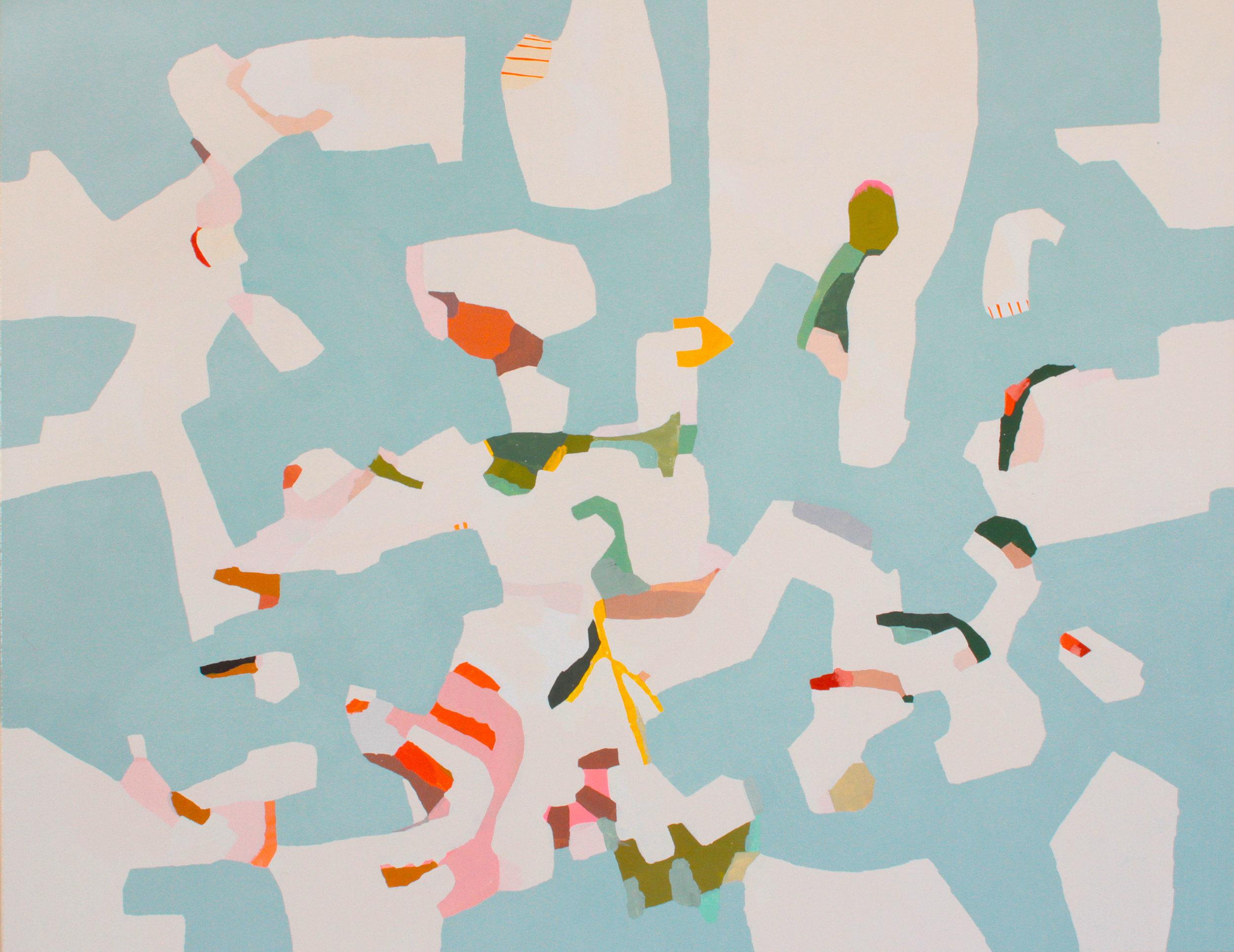 """Daylit"" 2017, oil on canvas, 46x36"""