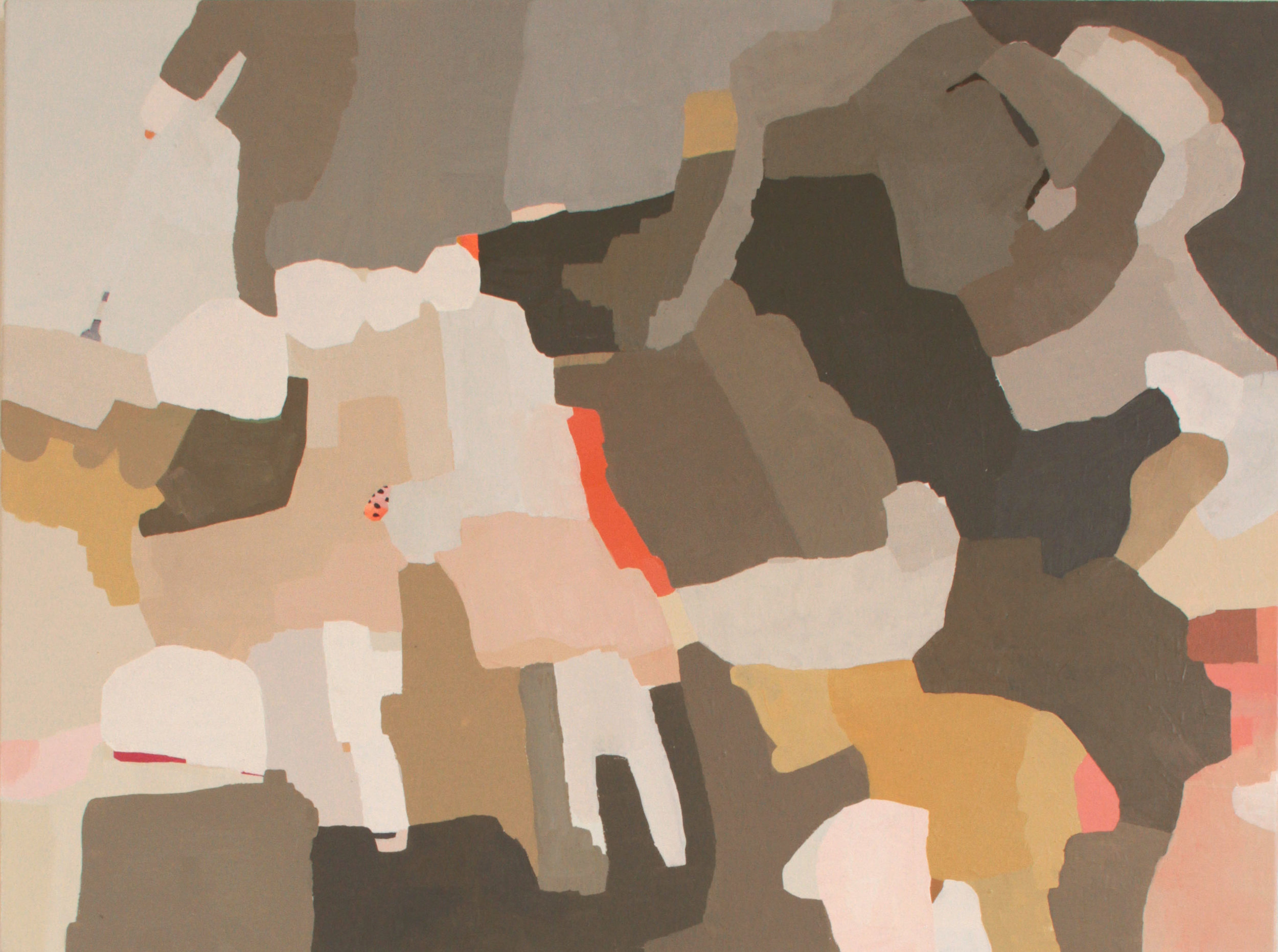 """Moving Ridge"" 2016, oil on canvas, 30""x40"""