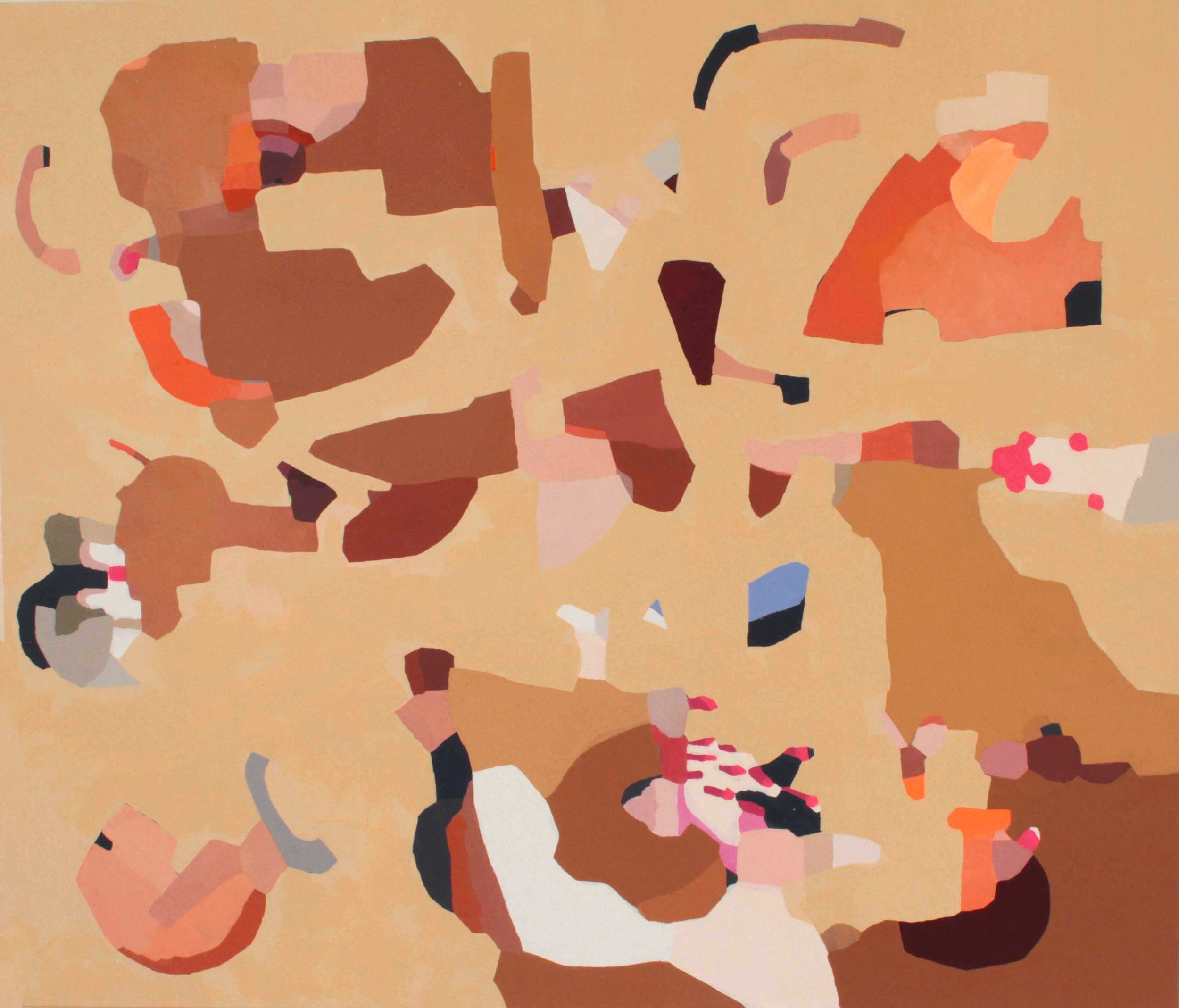 """Hidden Causeway"" 2017, oil on canvas, 48""x56"""