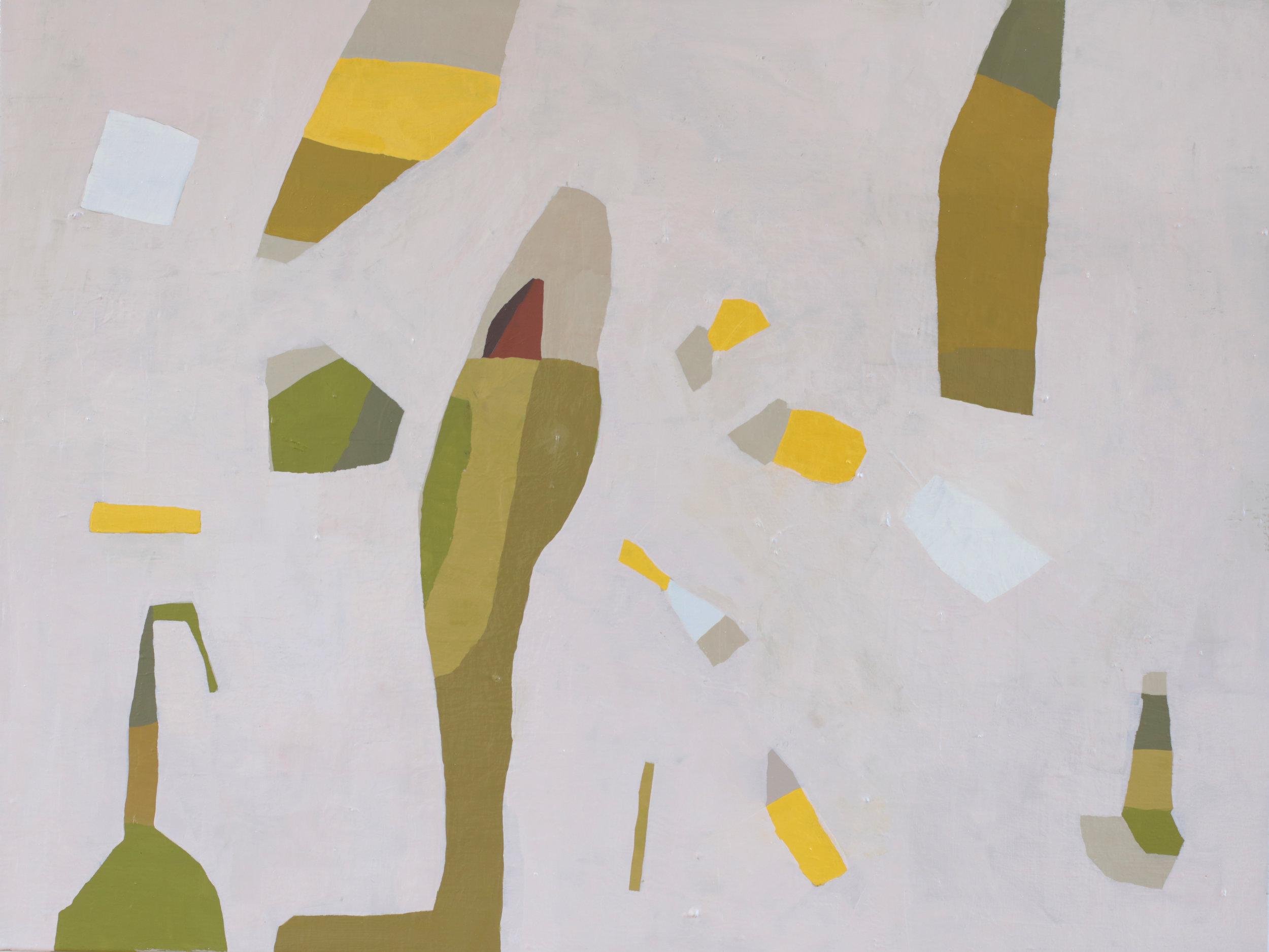 "Bishop, 2018, 40""x30"" oil on canvas"
