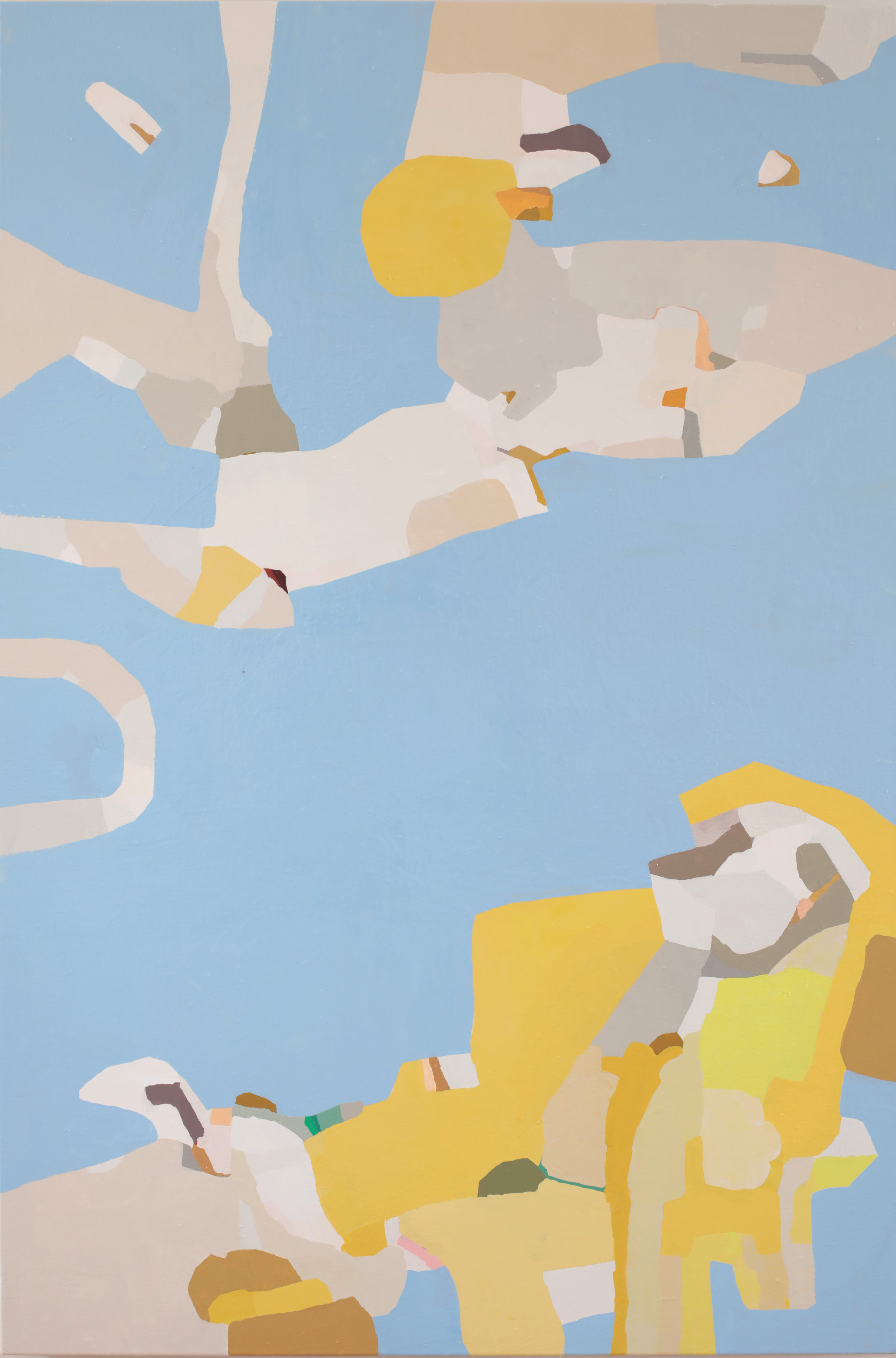"Fiction, 2018, 40""x60"" oil on canvas"