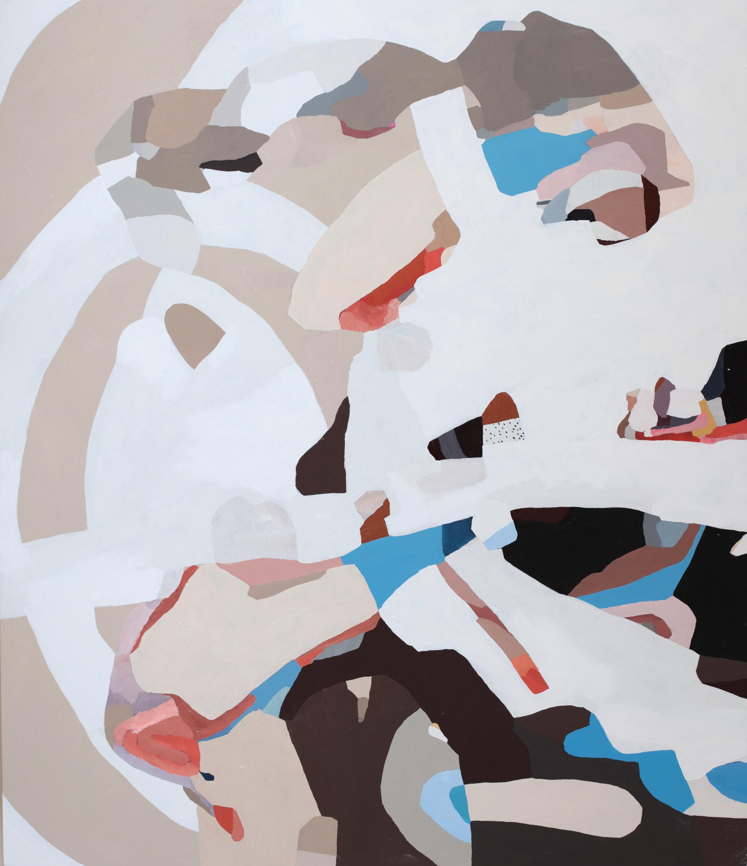"Fortune Teller, 2018, 60""x50"" oil on canvas"