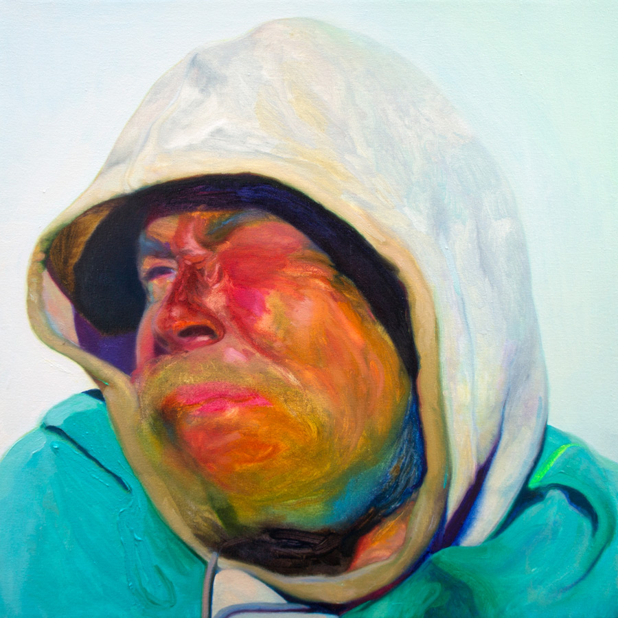 That Rainbow Is Winking  , 2012   Oil on Canvas   30 x 30  in.