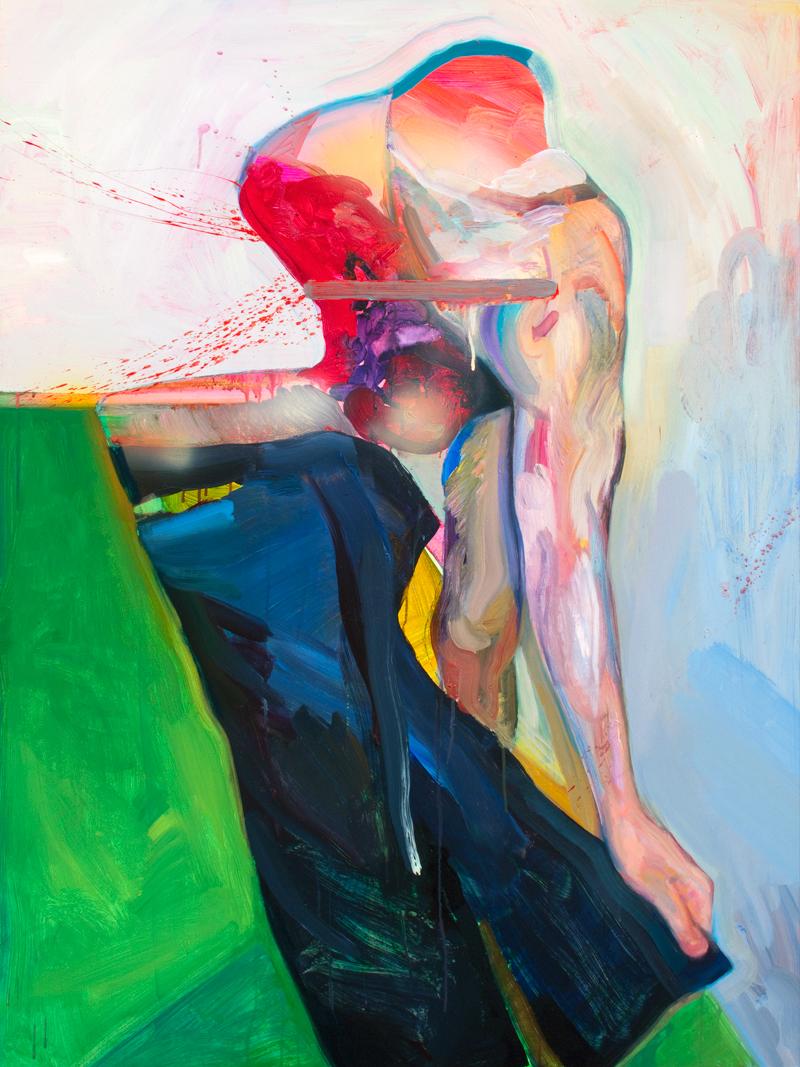 Pants, 2011   Acrylic on Panel   36 x 48in.