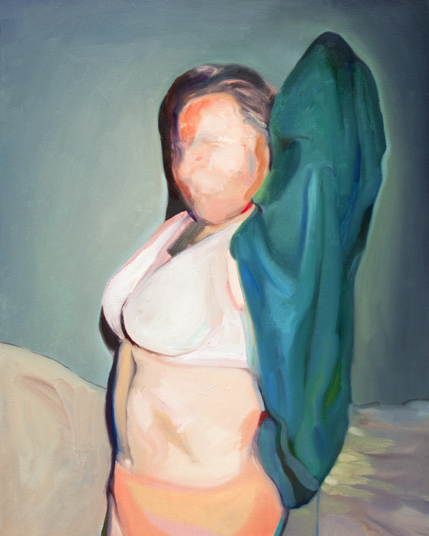 Shirt,  2011   Oil and Acrylic on Canvas   24 x 30 in.