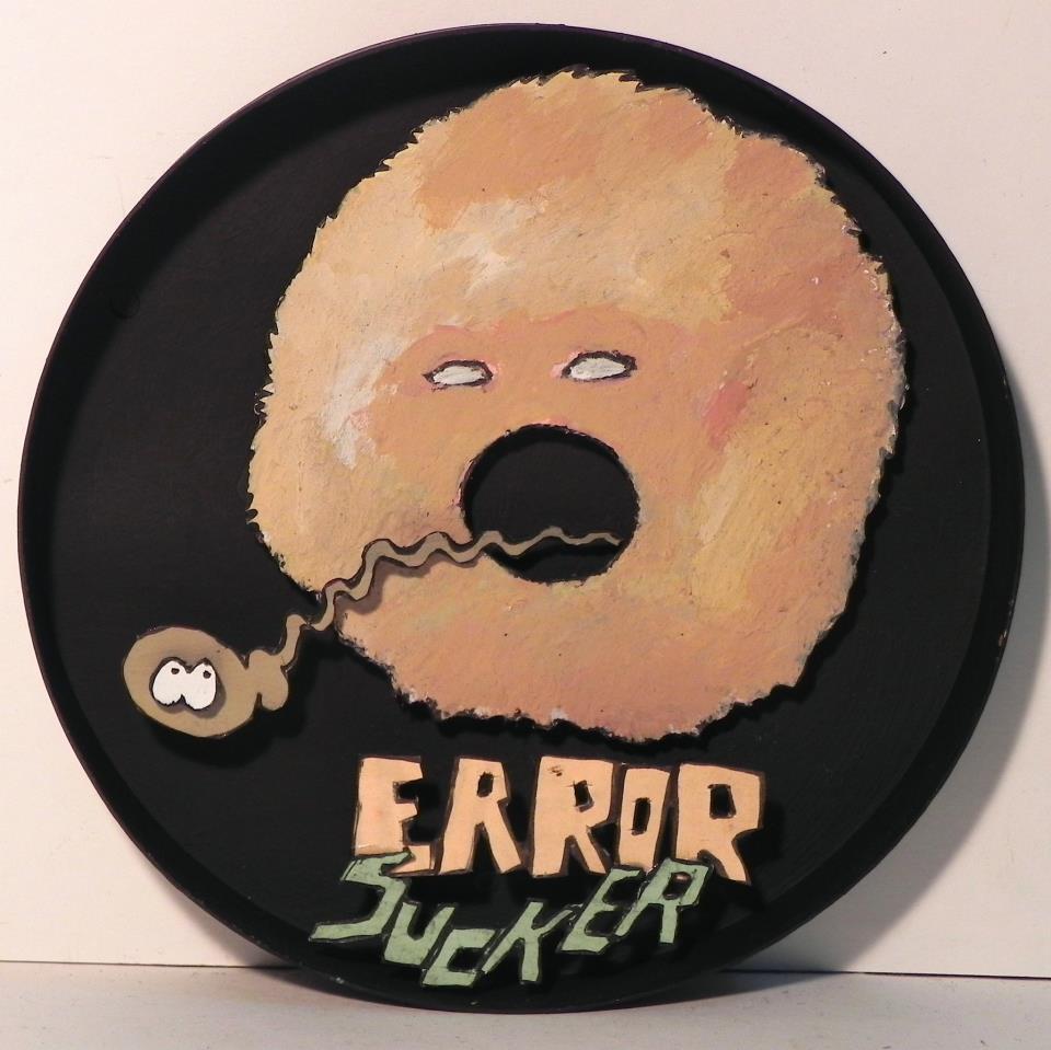 Error Sucker  , 2012   Mixed Media   4 1/2 in. (diameter)