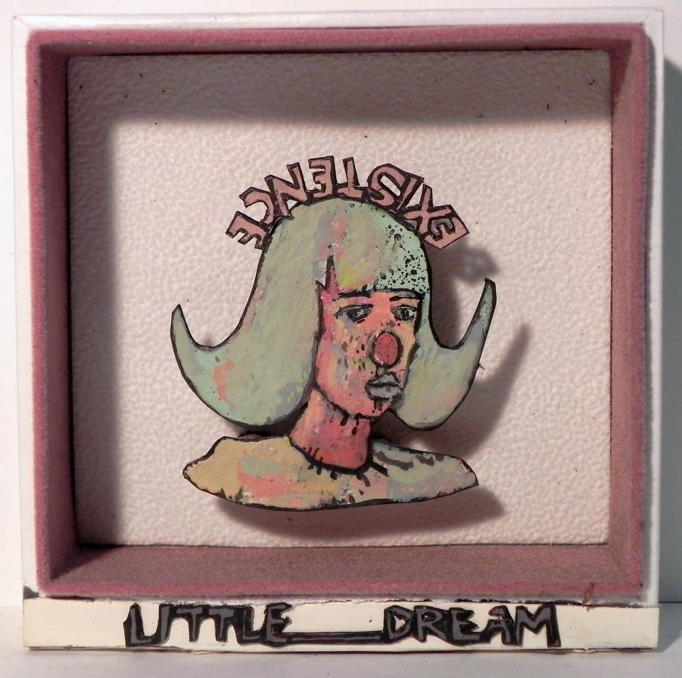Little Dream Existence  ,   2011-2012   Mixed Media