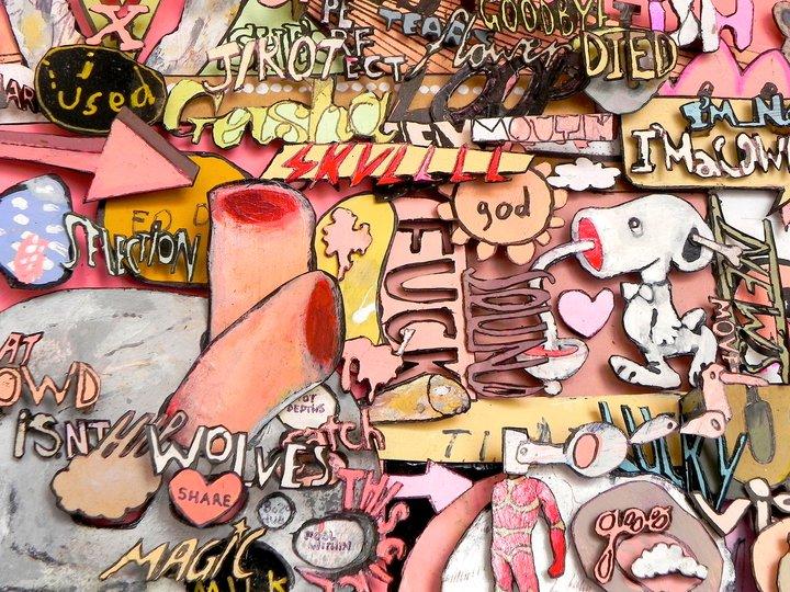 Old Gum Liftin' Playtime Cavity Kid (Detail 2), 2012