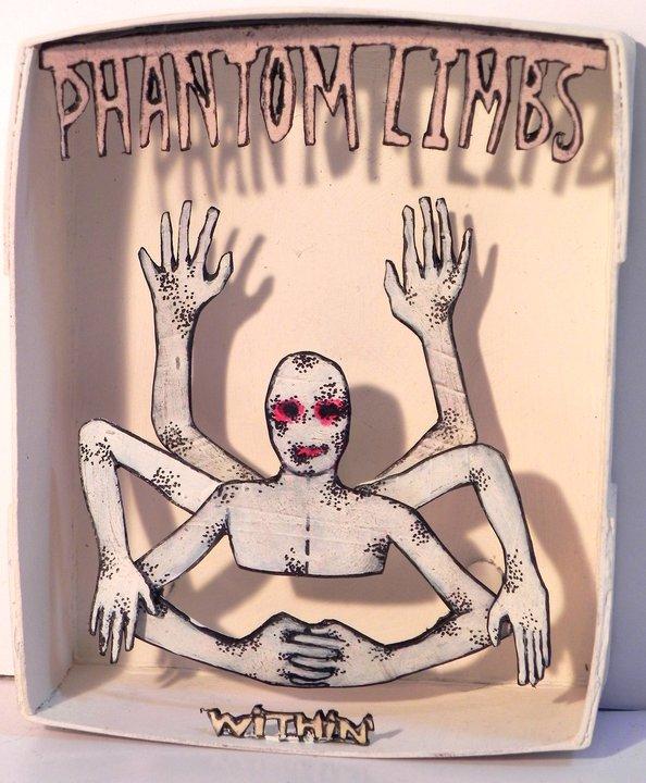 Phantom Limbs Within  ,2011   Mixed Media   3 1/4 x 3 5/8in
