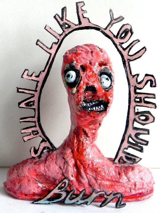 Shine Like You Should Burn  , 2010/2011   [private collection NY  , NY]   Mixed Media