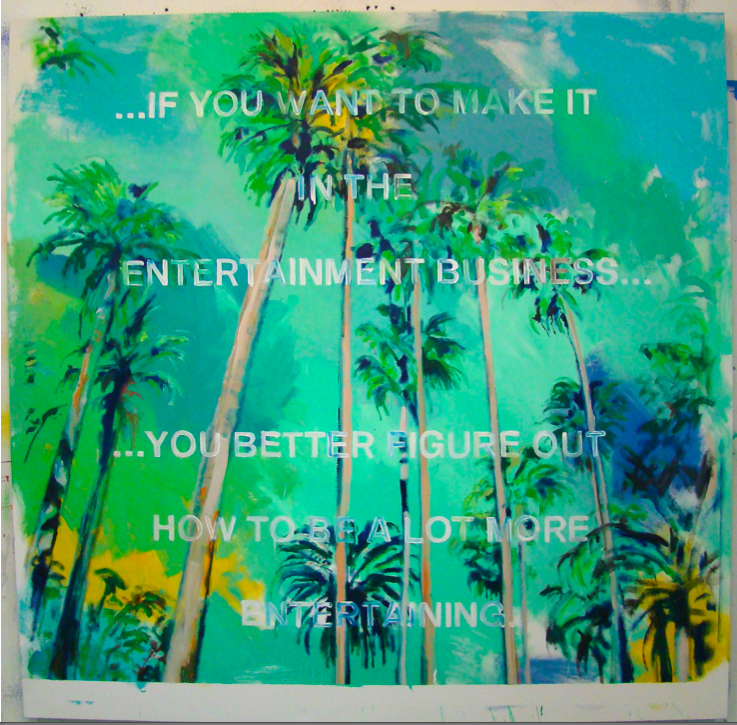 Note To Self (LA Palms), 2015