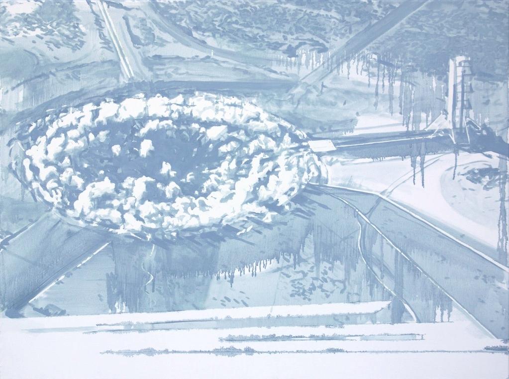 Underground Nuclear Test, Nevada, 2014
