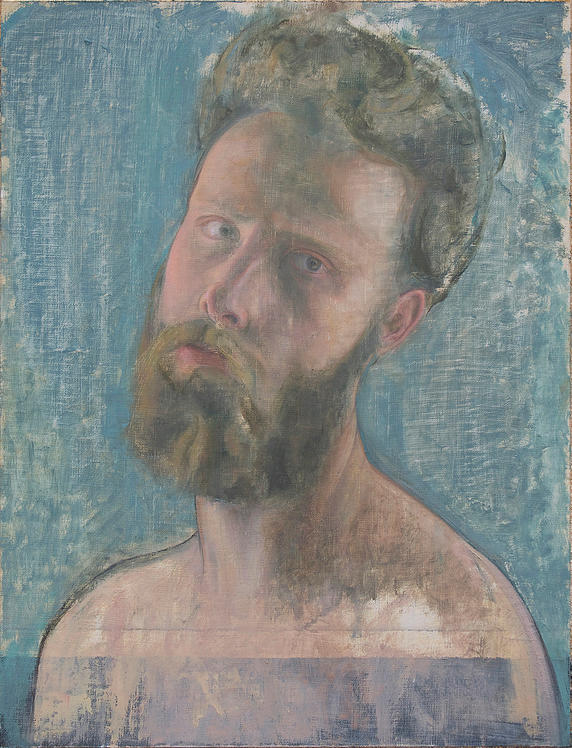 Self Portrait (morning light), 2012